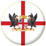 Perth Flag 25mm Button Badge